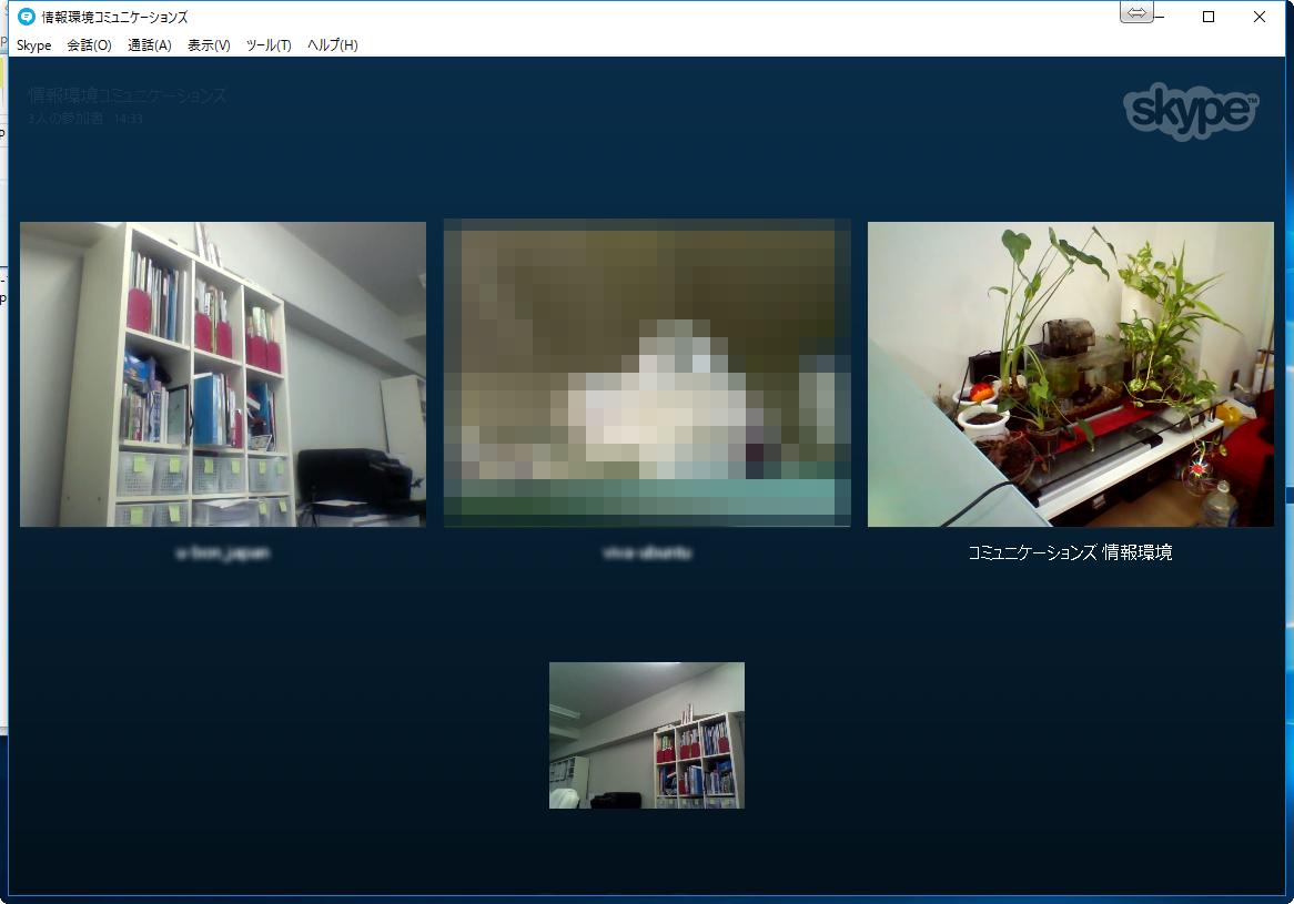 ビデオ 通話 skype