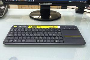 キーボード関連のトラブルを回避。Bluetoothからシンプルなワイヤレスキーボードに変更