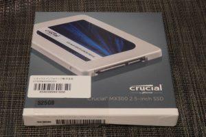 500GB前後のSSDが低価格化。やはり高速! 快適!! 換装する価値あり!!!