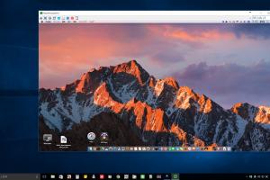 WindowsからMacのデスクトップをリモート操作。仮想デスクトップで瞬時に切り替え、超便利!