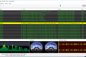 foobar2000のレイアウト編集が柔軟に可能な「Columns UI」を用いてクールで実用的なコンポーネントを配置する