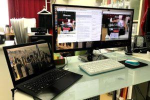 Chromebook(Chromium OS)でもマルチモニターで作業効率が大幅に向上