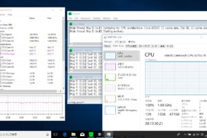 PCが安定稼働するかを「Prime95」で「ストレステスト」。PCの状況を「Open Hardware Monitor」でモニターする