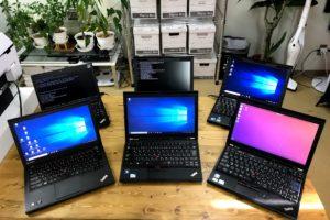 格安中古ノートPCを買うならThinkPad X220か230がおススメ。Windows 10のトラブルで業務をストップさせない、その方法が簡単。