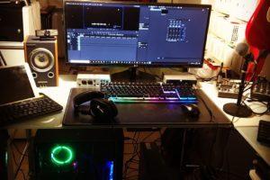 AMD Ryzenベースで組んだデスクトップPC。コストパフォーマンスに満足!